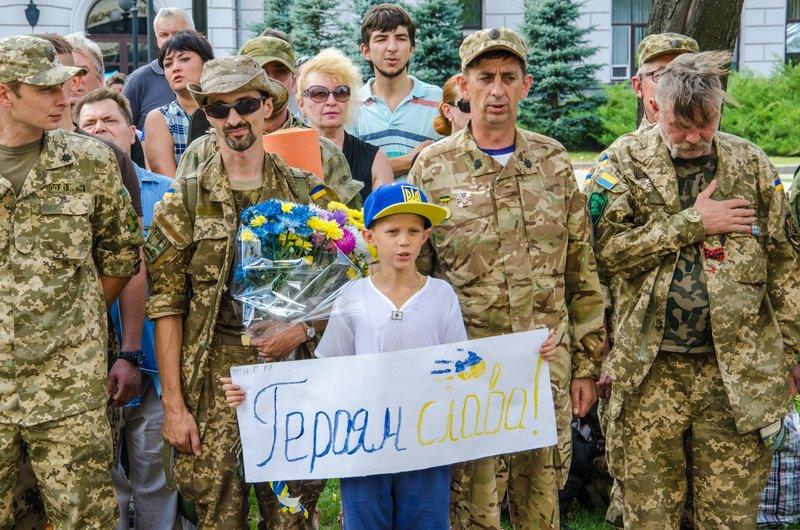 На Днепропетровщине встретили демобилизованных бойцов 43-го батальона (фото) - фото 11