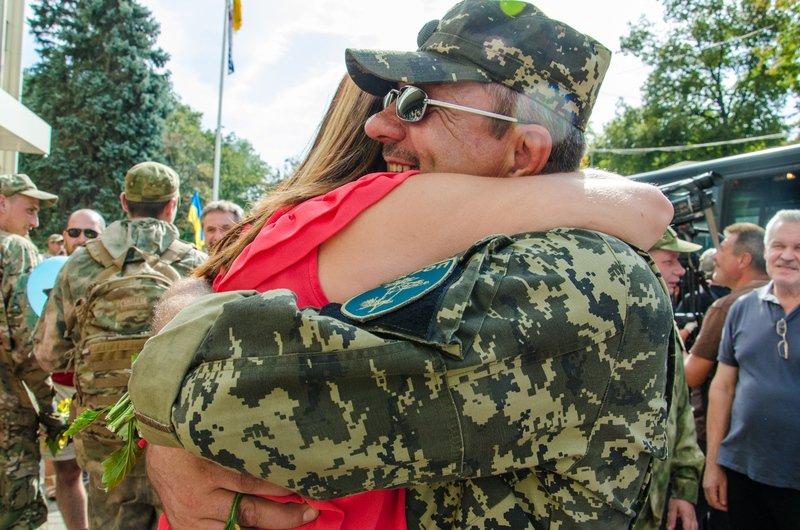 На Днепропетровщине встретили демобилизованных бойцов 43-го батальона (фото) - фото 7