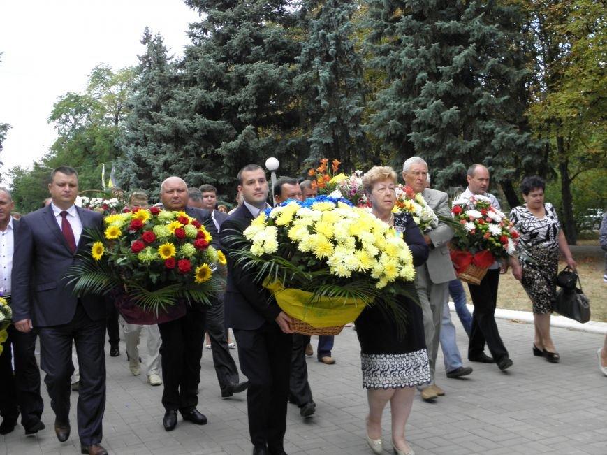 В Краматорске возложили цветы к Вечному огню (фото) - фото 4