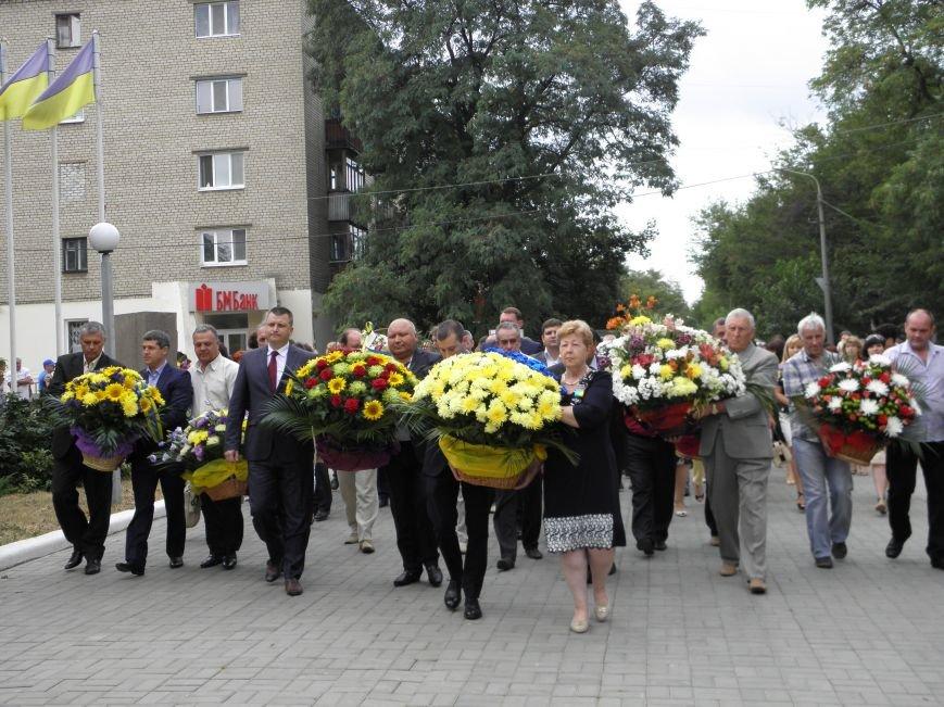В Краматорске возложили цветы к Вечному огню (фото) - фото 1