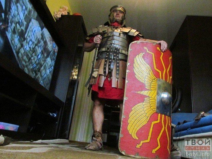 Фоторепортаж: как гродненец Борис превратился в легионера Тита Флавия (фото) - фото 7