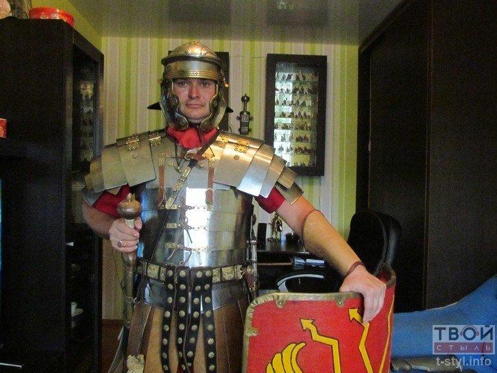 Фоторепортаж: как гродненец Борис превратился в легионера Тита Флавия (фото) - фото 6
