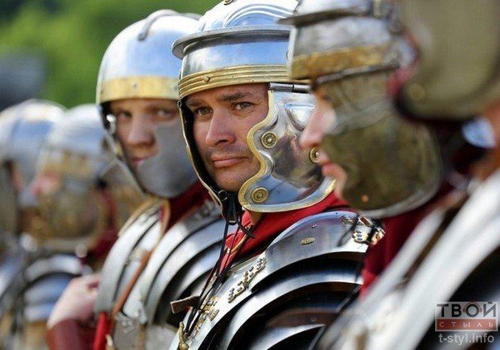 Фоторепортаж: как гродненец Борис превратился в легионера Тита Флавия (фото) - фото 9