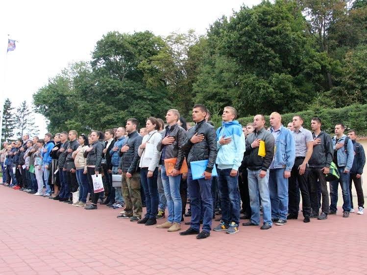 У Львівському університеті внутрішніх справ розпочали навчання 123 майбутніх поліцейських (ФОТО) (фото) - фото 2