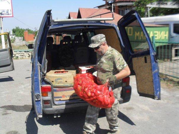 Николаевские волонтеры отвезли детские подарки и продукты на передовую (ФОТО) (фото) - фото 6