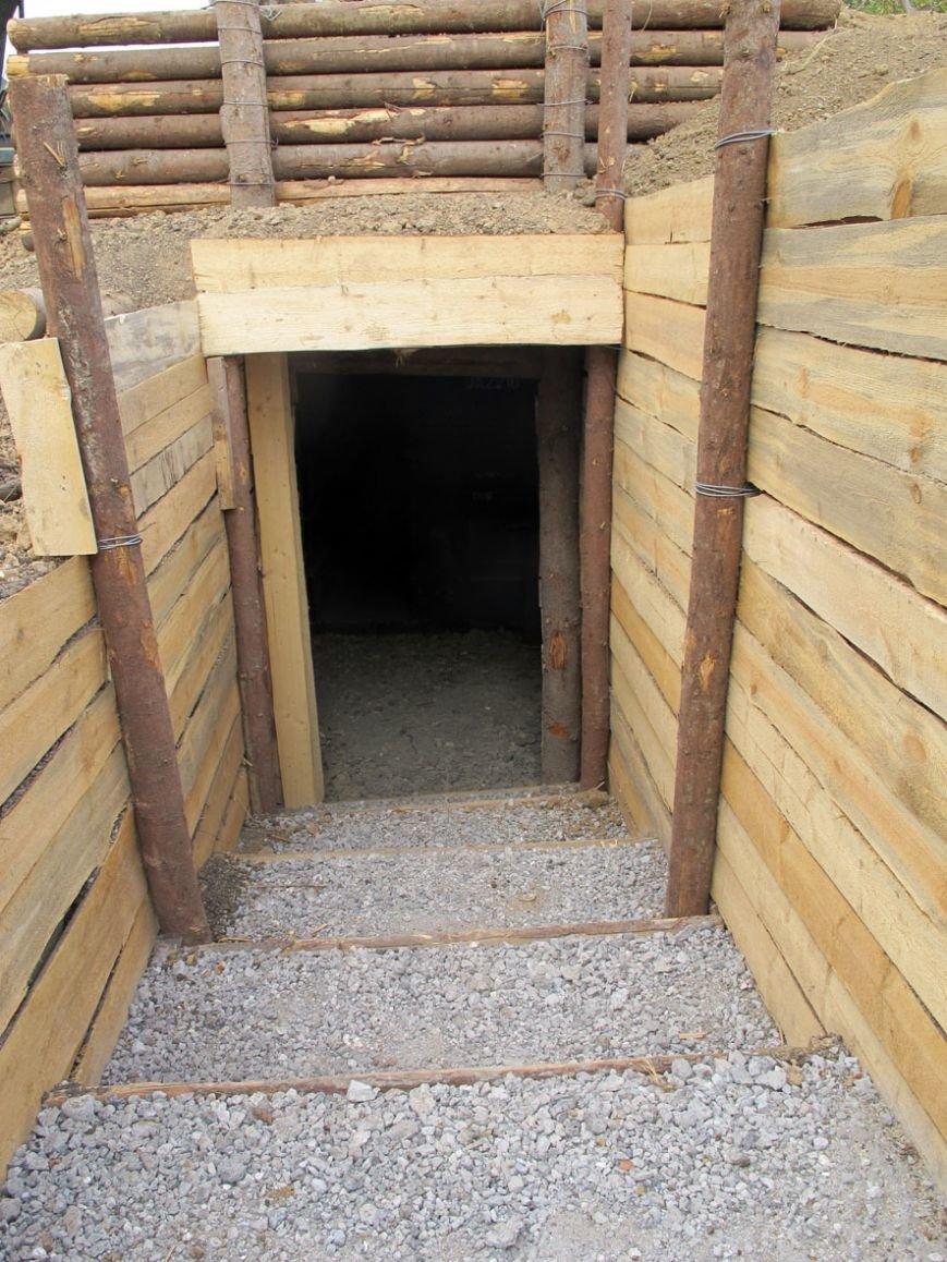 Под Мариуполем построили бункер (ФОТО), фото-1