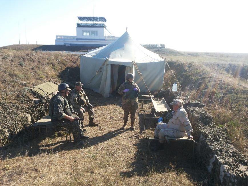 На Николаевщине учили медиков оказывать первую помощь военным  (ФОТО) (фото) - фото 2