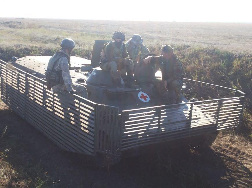 На Николаевщине учили медиков оказывать первую помощь военным  (ФОТО) (фото) - фото 4