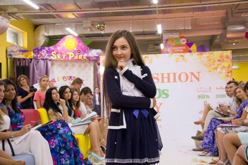 Маленька франківчанка стала переможницею столичного показу дитячої моди (ФОТО) (фото) - фото 1