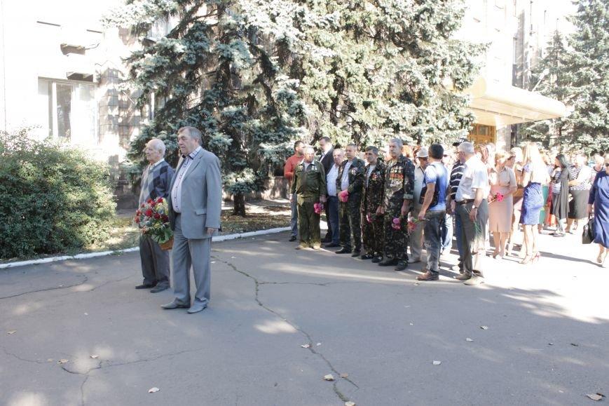 В Доброполье возложили цветы к памятнику погибшим воинам (ФОТО), фото-1