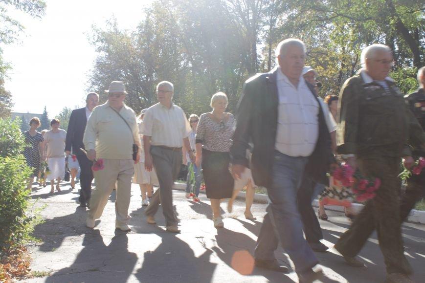 В Доброполье возложили цветы к памятнику погибшим воинам (ФОТО), фото-5