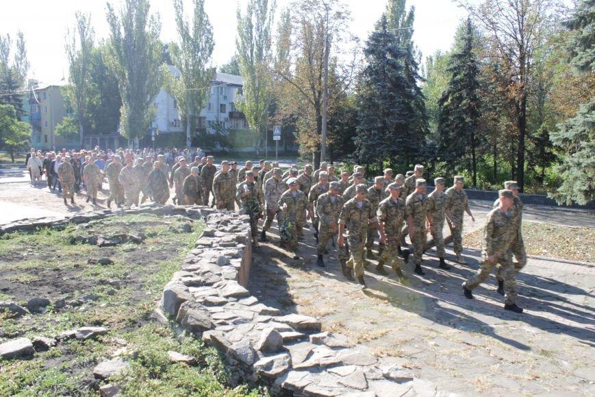В Доброполье возложили цветы к памятнику погибшим воинам (ФОТО), фото-2
