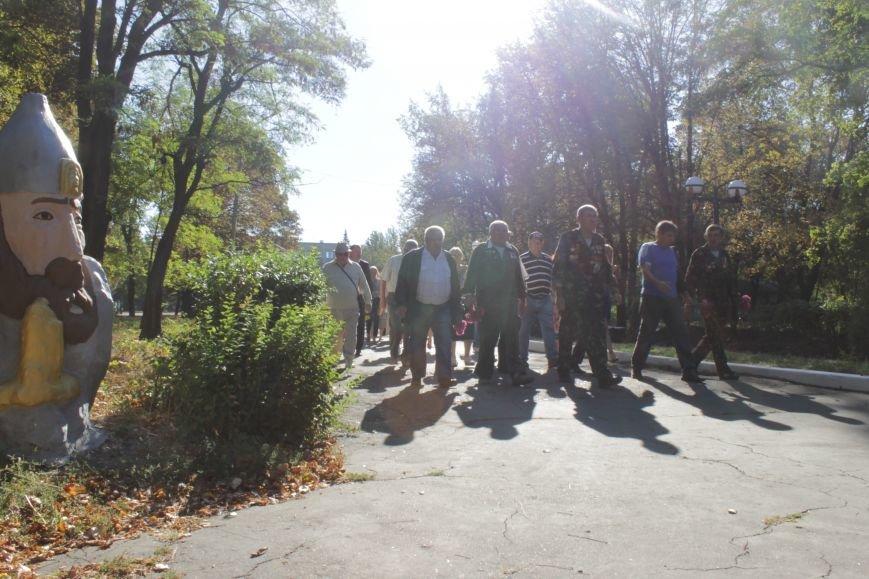 В Доброполье возложили цветы к памятнику погибшим воинам (ФОТО), фото-4