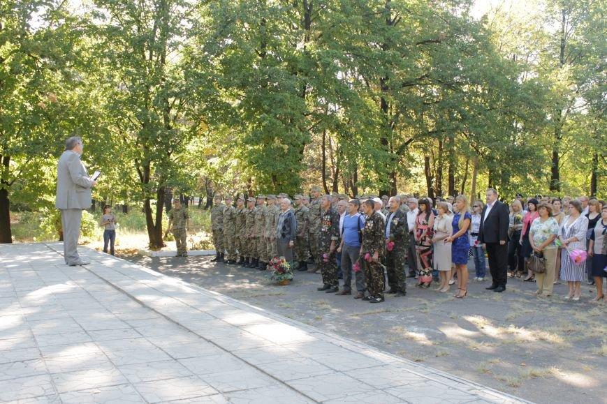 В Доброполье возложили цветы к памятнику погибшим воинам (ФОТО), фото-8