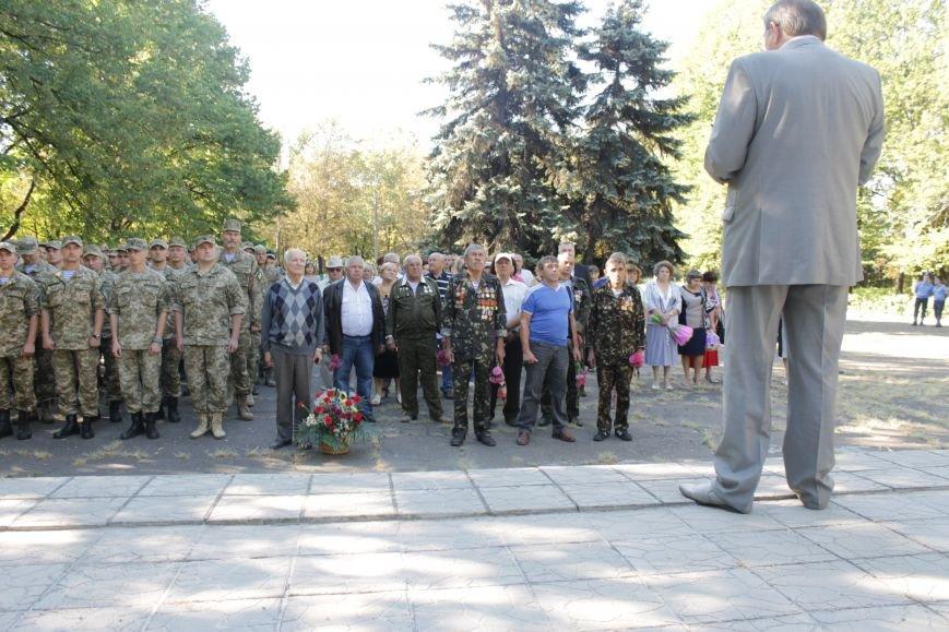 В Доброполье возложили цветы к памятнику погибшим воинам (ФОТО), фото-7