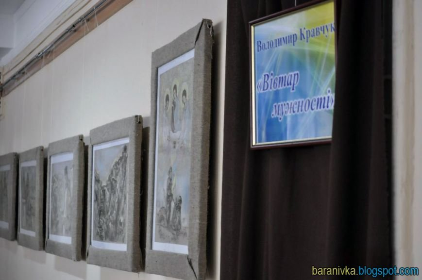 У Житомирі відкрилась виставка картин-переживань «Вівтар мужності» (фото) - фото 1