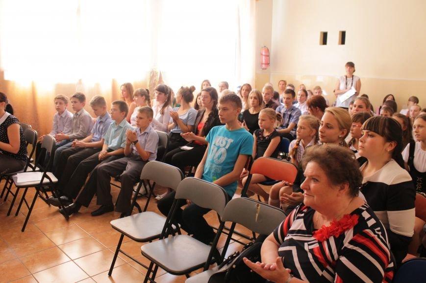 В добропольской школе-лицее бойцы 95-й бригады поздравили школьников (ФОТО), фото-8