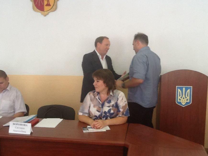 В Днепродзержинском горсовете наградили предпринимателей (фото) - фото 3