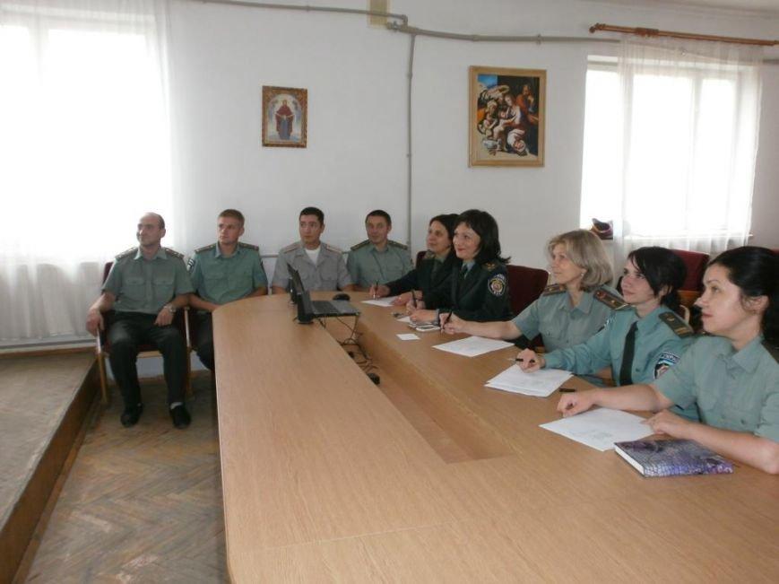 На Прикарпатті обрали кращого офіцера-пенітенціарія (ФОТО) (фото) - фото 1