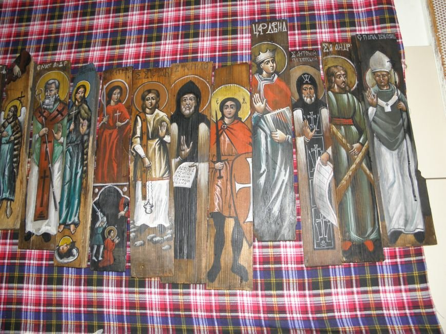 В Краматорск привезли «Стену» из ликов святых (фото) - фото 4