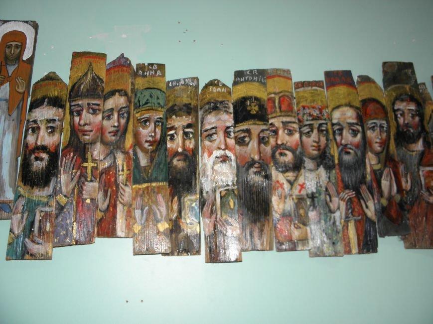 В Краматорск привезли «Стену» из ликов святых (фото) - фото 3