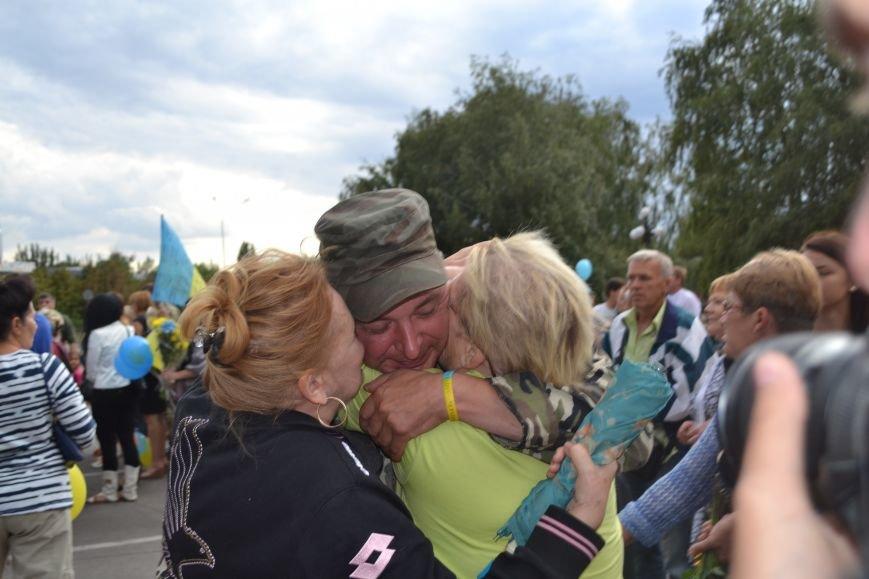 Более 100 демобилизованных бойцов 17 бригады прибыли в Кривой Рог и привезли с собой «донецких» (ФОТО), фото-6