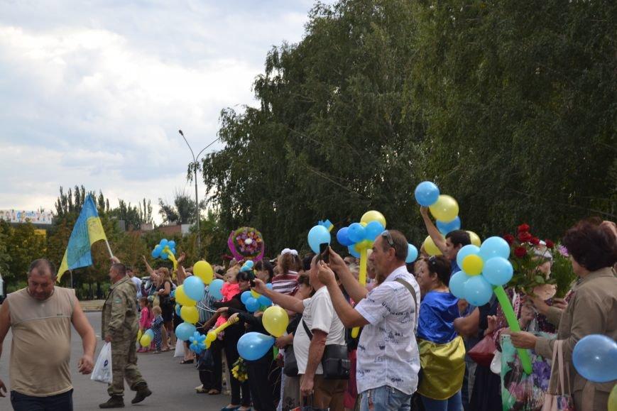 Более 100 демобилизованных бойцов 17 бригады прибыли в Кривой Рог и привезли с собой «донецких» (ФОТО), фото-1