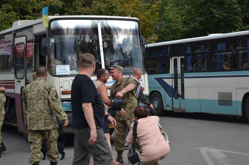Более 100 демобилизованных бойцов 17 бригады прибыли в Кривой Рог и привезли с собой «донецких» (ФОТО), фото-2