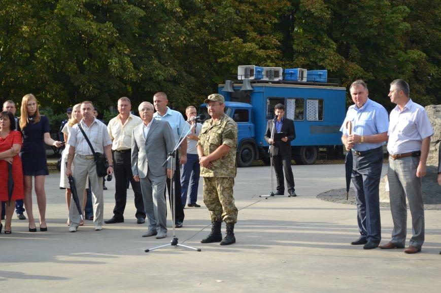 Более 100 демобилизованных бойцов 17 бригады прибыли в Кривой Рог и привезли с собой «донецких» (ФОТО), фото-16