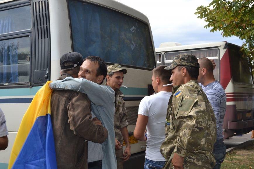 Более 100 демобилизованных бойцов 17 бригады прибыли в Кривой Рог и привезли с собой «донецких» (ФОТО), фото-12