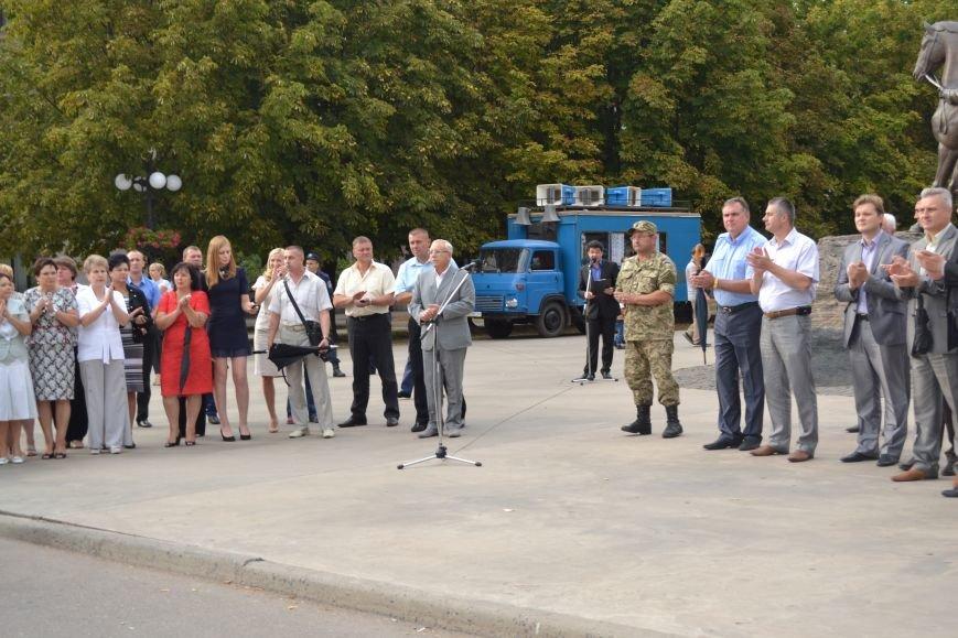 Более 100 демобилизованных бойцов 17 бригады прибыли в Кривой Рог и привезли с собой «донецких» (ФОТО), фото-17