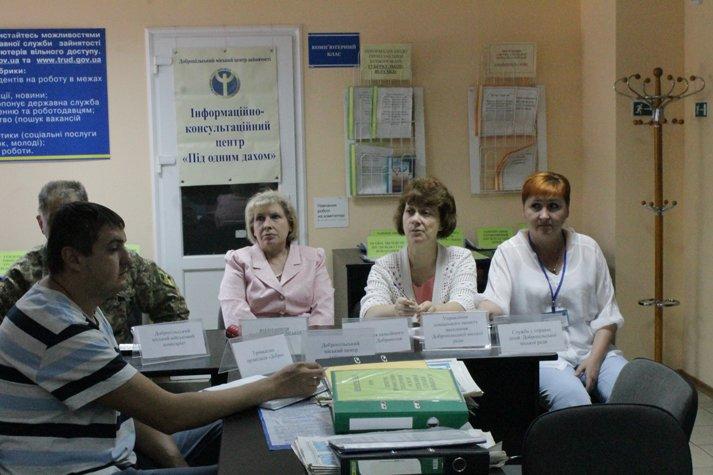 В Доброполье состоялась информационно-консультационная встреча «Под одной крышей», фото-5
