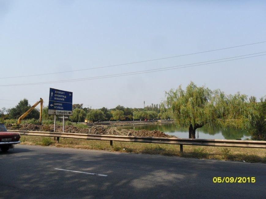 Юрий Вилкул: Очистка пруда на Терминале станет первым этапом создания новой уютной зоны в Кривом Роге   (ФОТО, ВИДЕО) (фото) - фото 1