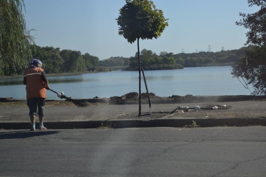 Юрий Вилкул: Очистка пруда на Терминале станет первым этапом создания новой уютной зоны в Кривом Роге   (ФОТО, ВИДЕО), фото-7