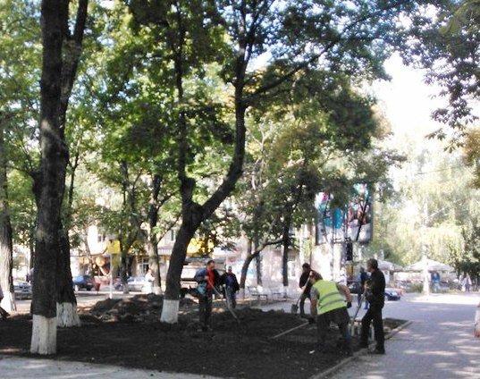 В Сумах осужденные благоустроили сквер «СКД» (ФОТО) (фото) - фото 1