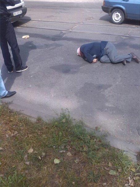 На вул. Шевченка автомобіль збив пішохода (ФОТО) (фото) - фото 1