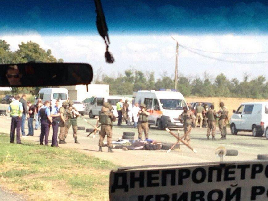 Что случилось на блокпосту возле быка на подъезде к Днепродзержинску (Обновлено), фото-3
