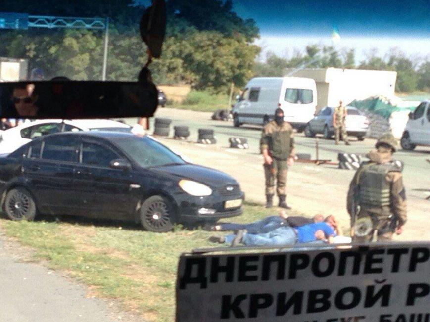Что случилось на блокпосту возле быка на подъезде к Днепродзержинску (Обновлено), фото-2