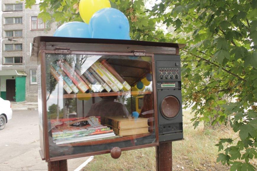 В Доброполье появилась «Остановка-книга» (ФОТО), фото-8