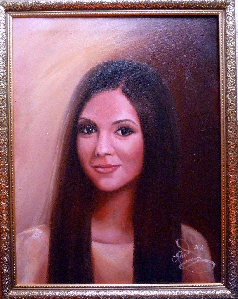 Певица Нюша поблагодарила нашего земляка за портрет (фото) - фото 1