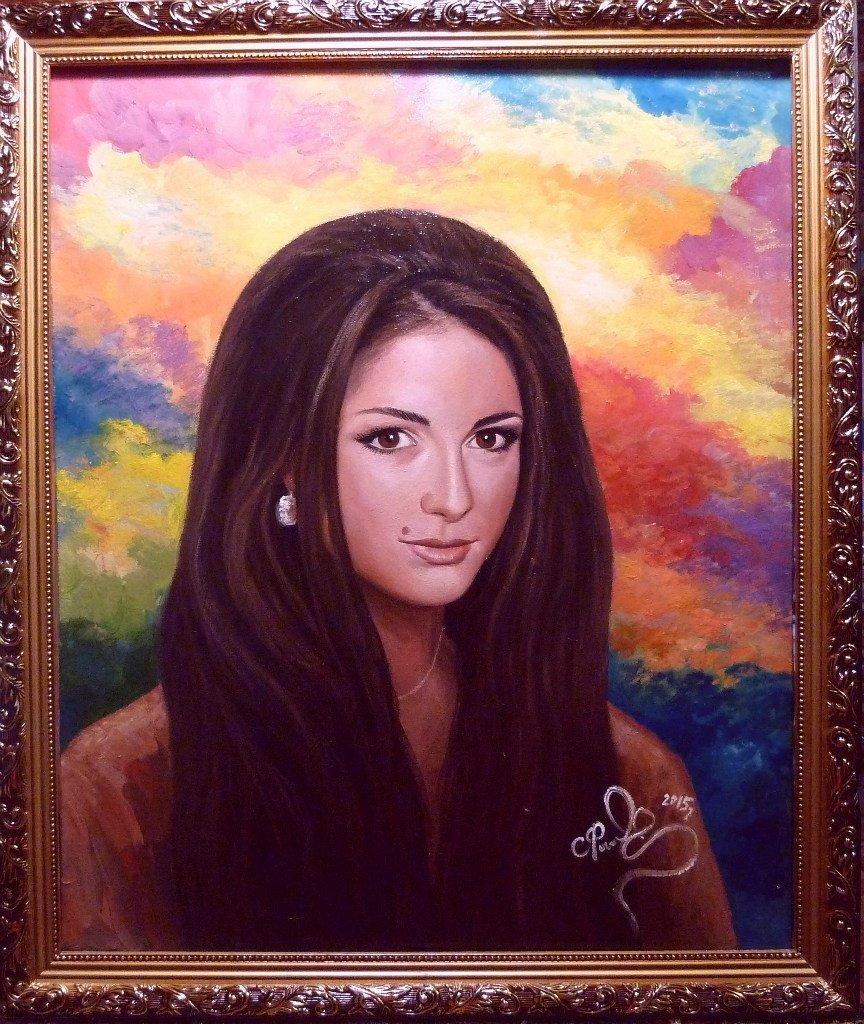 Певица Нюша поблагодарила нашего земляка за портрет, фото-1