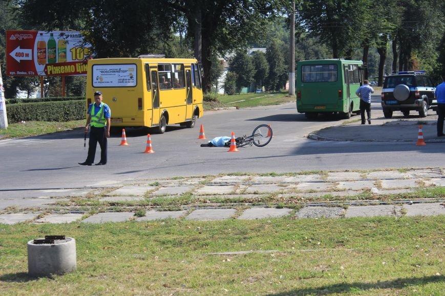 В Днепродзержинске водитель маршрутки насмерть сбил велосипедиста (фото) - фото 6