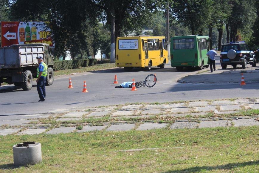 В Днепродзержинске в ДТП на перекрестке возле «Дружбы» погиб велосипедист (Дополнено), фото-1