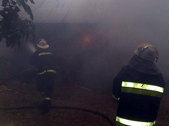 Пожежа на Хмельниччині: 12 тонн сіна згоріло, а будинок врятували (Фото) (фото) - фото 2