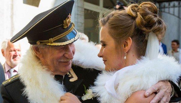 24-летняя крымчанка вышла замуж за 84-летнего российского актера Ивана Краско (ФОТО, ВИДЕО) (фото) - фото 4