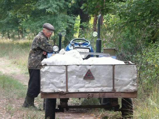 Двое мужчин вывозили яблоки из Чернобыльской зоны (ФОТО) (фото) - фото 1