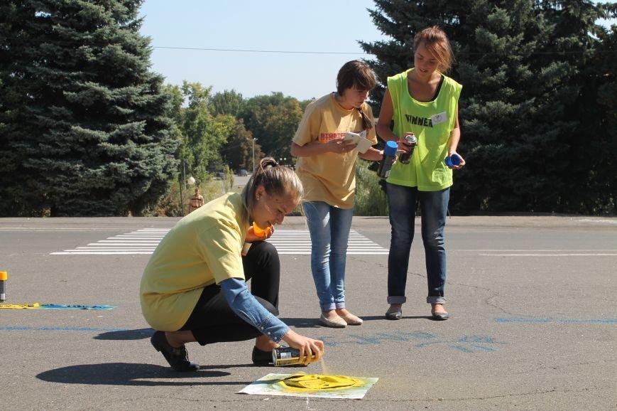 Молодежь разукрасила улицы Артемовска, фото-13