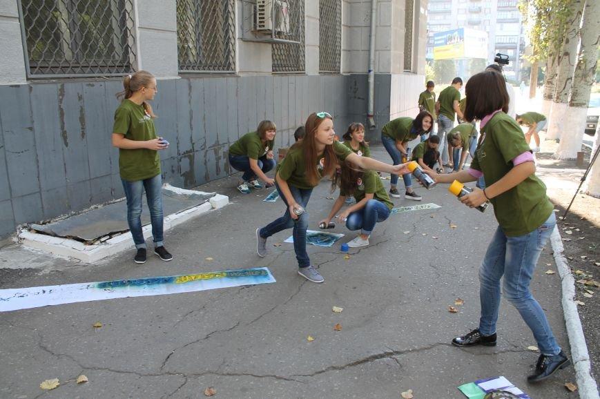 Молодежь разукрасила улицы Артемовска, фото-7