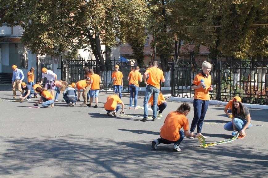 Молодежь разукрасила улицы Артемовска, фото-1