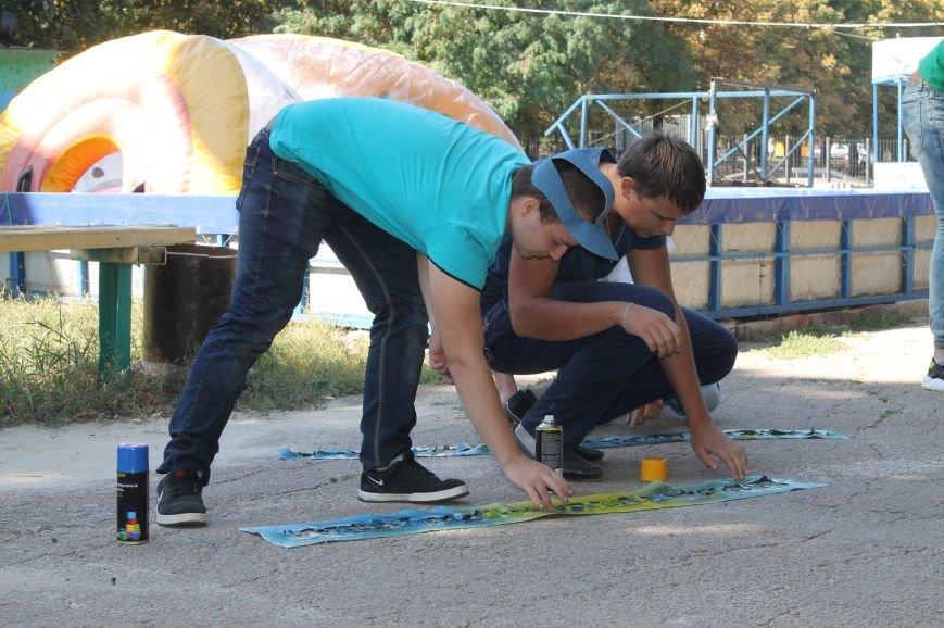 Молодежь разукрасила улицы Артемовска, фото-10